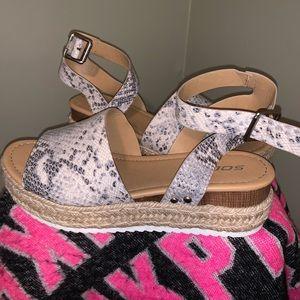 Thick sole sandals. Super cute